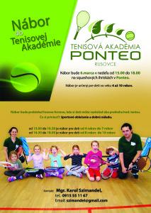tenisová akadémia Ponteo